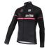 Santini Giro d'Italia 16 Maglia Nero Thermal Long Sleeve Jersey - Black: Image 1