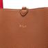 Lauren Ralph Lauren Women's Milford Olivia Tote Bag - Bourbon/Red: Image 4