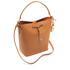 Lauren Ralph Lauren Women's Dryden Debby Drawstring Bag - Field Brown/Monarch Orange: Image 3