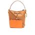 Lauren Ralph Lauren Women's Dryden Debby Drawstring Bag - Field Brown/Monarch Orange: Image 7
