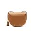 Lauren Ralph Lauren Women's Dryden Caley Mini Saddle Bag - Field Brown/Monarch Orange: Image 6