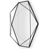 Umbra Prisma Geometric Mirror - Black: Image 2