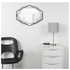 Umbra Prisma Geometric Mirror - Black: Image 3