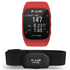 Polar M400 GPS Running Watch with Heart Rate Monitor - Red: Image 1