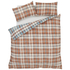 Catherine Lansfield Heritage Kelso Check Bedding Set - Spice: Image 2