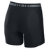 Under Armour Women's HeatGear Armour 5 Inch Middy Shorts - Black: Image 2