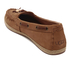 UGG Women's Suzette Nubuck Moccasin Shoes - Chestnut: Image 4