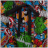 Marvel Comics Men's Avengers All Over Print Lounge Pants - Multi: Image 3