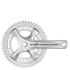Campagnolo Potenza 11 Speed Power Torque Chainset - Silver: Image 1