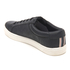 Baskets Basses Homme Sable PU Jack & Jones - Noir: Image 4