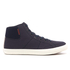 Jack & Jones Men's Dunmore Mid Top Trainers - Navy Blazer: Image 1
