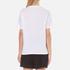 Alexander Wang Women's Bonded Barcode Boxy Crew Neck T-Shirt - Bleach: Image 3