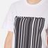Alexander Wang Women's Bonded Barcode Boxy Crew Neck T-Shirt - Bleach: Image 5