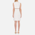 Alexander Wang Women's Crew Neck Fish Line Detail Straight Cut Dress - Bone: Image 2