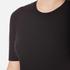 Alexander Wang Women's Crew Neck Pierced Sleeve T-Shirt Dress - Matrix: Image 4