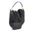 Diane von Furstenberg Women's Moon Calf Hair/Leather Large Hobo Bag - Black: Image 3