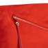 Diane von Furstenberg Women's Satin Asymmetric Foldover Clutch Bag - Rust: Image 4
