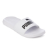 Puma Popcat Slide Sandals - White/Black: Image 2