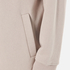 T by Alexander Wang Women's Soft French Terry Long Zip Up Hoody - Beige: Image 6
