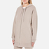 T by Alexander Wang Women's Soft French Terry Long Zip Up Hoody - Beige: Image 2
