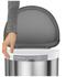 simplehuman Semi-Round Brushed Steel Sensor Bin 45L: Image 3