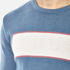 Garbstore Men's Stonewall Crew Knitted Jumper - Blue: Image 4