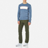 Garbstore Men's Stonewall Crew Knitted Jumper - Blue: Image 2