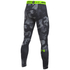 Under Armour Men's HeatGear Armour Printed Compression Tights - Black: Image 2