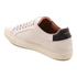 Paul Smith Men's Basso Leather Court Trainers - Quiet White: Image 4