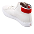PS by Paul Smith Men's Shima Hi-Top Trainers - White Mono: Image 4