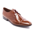 PS by Paul Smith Men's Robin Leather Toe Cap Derby Shoes - Tan High Shine: Image 2
