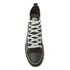 Spiral Men's Wolf Chi High Top Lace Up Sneakers - Black: Image 3