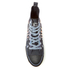 Spiral Men's Game Over High Top Lace Up Sneakers - Black: Image 3
