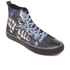 Spiral Men's Game Over High Top Lace Up Sneakers - Black: Image 2