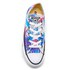 Converse Women's Chuck Taylor All Star Ox Trainers - Fresh Cyan/Magenta Glow/White: Image 3