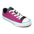 Converse Kids' Chuck Taylor All Star Double Tongue Ox Trainers - Magenta Glow: Image 2
