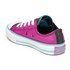 Converse Kids' Chuck Taylor All Star Double Tongue Ox Trainers - Magenta Glow: Image 4