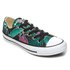 Converse Women's Chuck Taylor All Star Ox Trainers - Menta/Black/White: Image 2