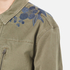Maison Scotch Women's Army Jacket with Embroidery - Military Green: Image 7