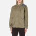 Maison Scotch Women's Army Jacket with Embroidery - Military Green: Image 2