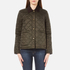 Barbour Heritage Women's Summer Cropped Border Jacket - Sage: Image 1