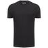 T-Shirt Homme Faustian Zip Brave Soul -Noir Charbon: Image 1