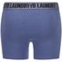 Tokyo Laundry Men's Eversholt 2 Pack Boxers - Cornflower Blue/Black: Image 3