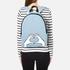 Lulu Guinness Women's Heart Hands Large Denim Backpack - Denim: Image 2