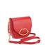 Lulu Guinness Women's Small Smooth Leather Amy Cross Body Bag - Coral: Image 4
