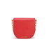 Lulu Guinness Women's Small Smooth Leather Amy Cross Body Bag - Coral: Image 8