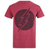 T-Shirt Homme DC Comics Vintage Flash - Rouge Chiné: Image 1