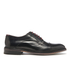 Ted Baker Men's Aokii Burnished Leather Toe Cap Derby Shoes - Black: Image 1