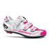 Sidi Genius 7 Women's Cycling Shoes - White/Pink Fluro: Image 1