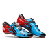 Sidi Wire Carbon Vernice Cycling Shoes - Blue Sky/Black/Red: Image 1